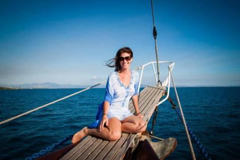 Trudi Fiji Sailing